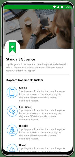 CepteGüvence app görseli